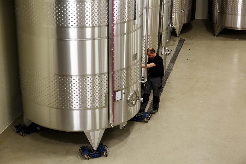 Chantiers Vini Concept - Cellier Les Quatre Tours
